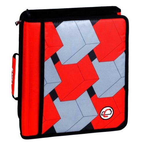 Case It Z Binder Two In One 1.5 Inch D Ring Zipper Binder