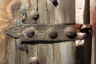 Vintage Door Hinge Close Up Door Hinges Rustic Doors Rustic Door Hinges