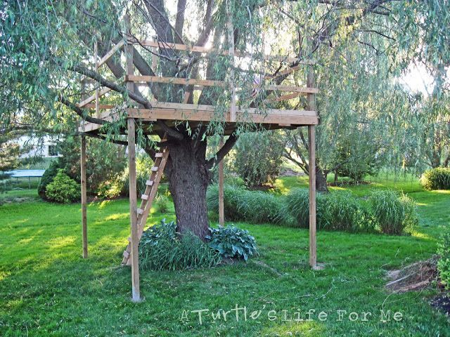 easy kids tree house interior design - Easy Kids Tree House