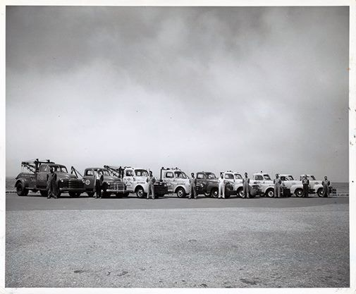 Throwback Thursday Aaa Roadside Assistance In 1953 Dream
