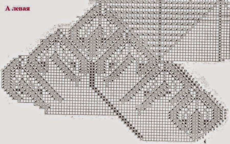 Carpeta redonda tejida con dos agujas | Crochet y Dos agujas - Patr ...