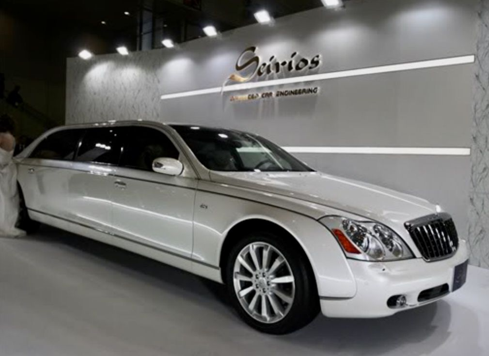 Mercedes Benz Maybach 62s W221 Stretch Limousine In 2021 Maybach Limousine Custom Cars