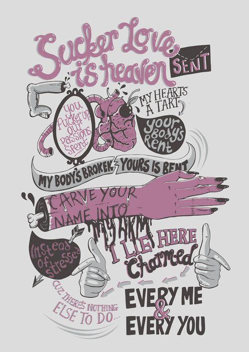 Every Me And Every You : every, Martha, Nasswein, Music, Placebo,, Lyrics,, Tattoos