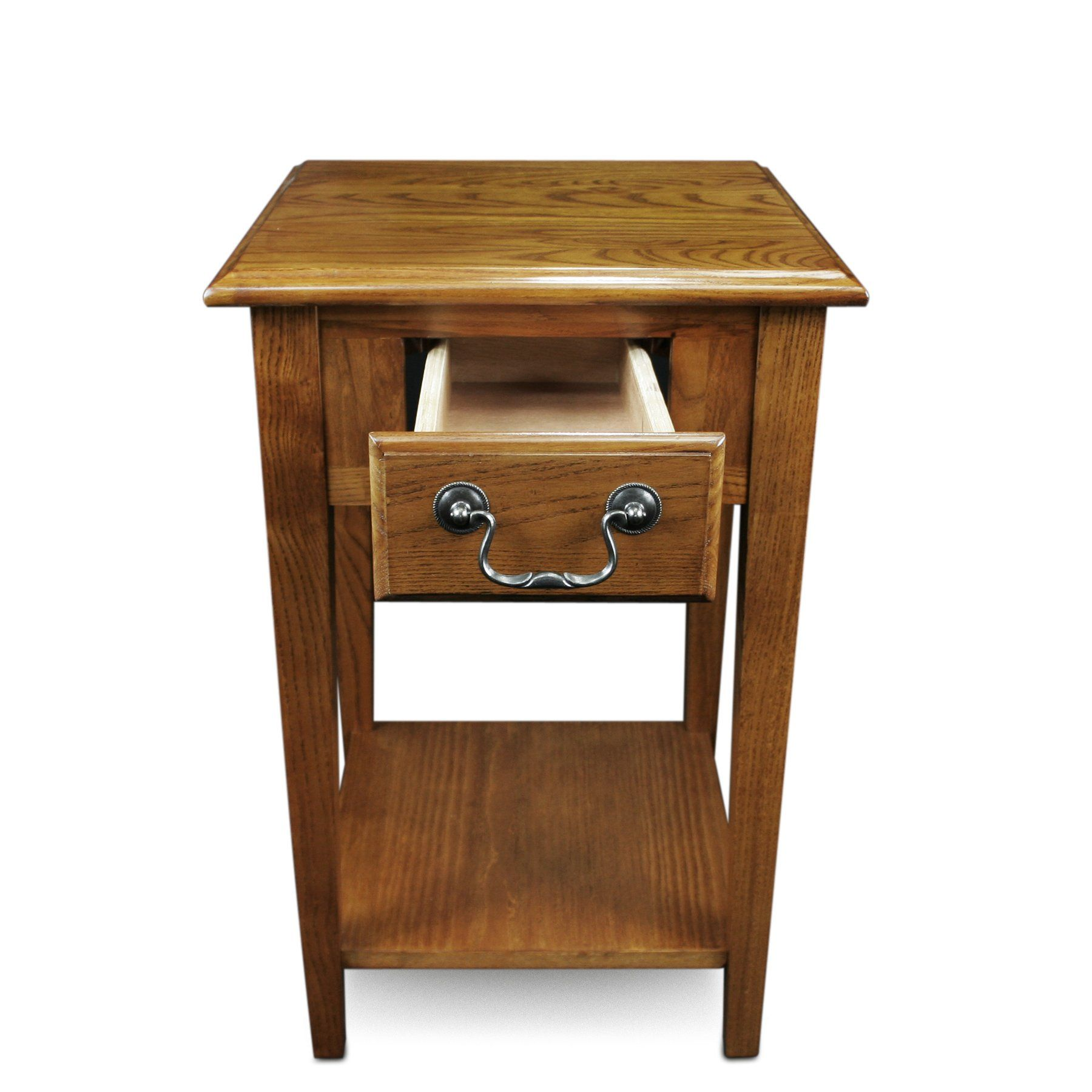 Leick Shaker Square End Table Medium Oak Click On The Image For Additional Details It Is Amazon Affiliate Link Oak End Tables Square Tables End Tables #oak #end #tables #for #living #room