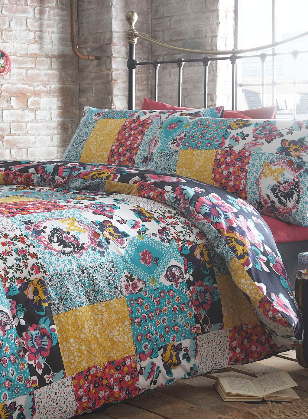 Olivia Patch Printed Bedding Set, £35 | Room | Pinterest | Bed ... : bhs quilted bedspreads - Adamdwight.com