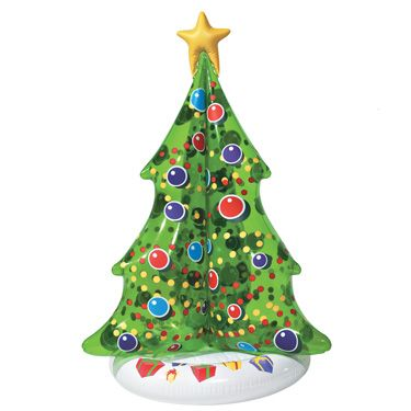 Good Christmas Decor · Holiday Inflatables, Floating Christmas Tree