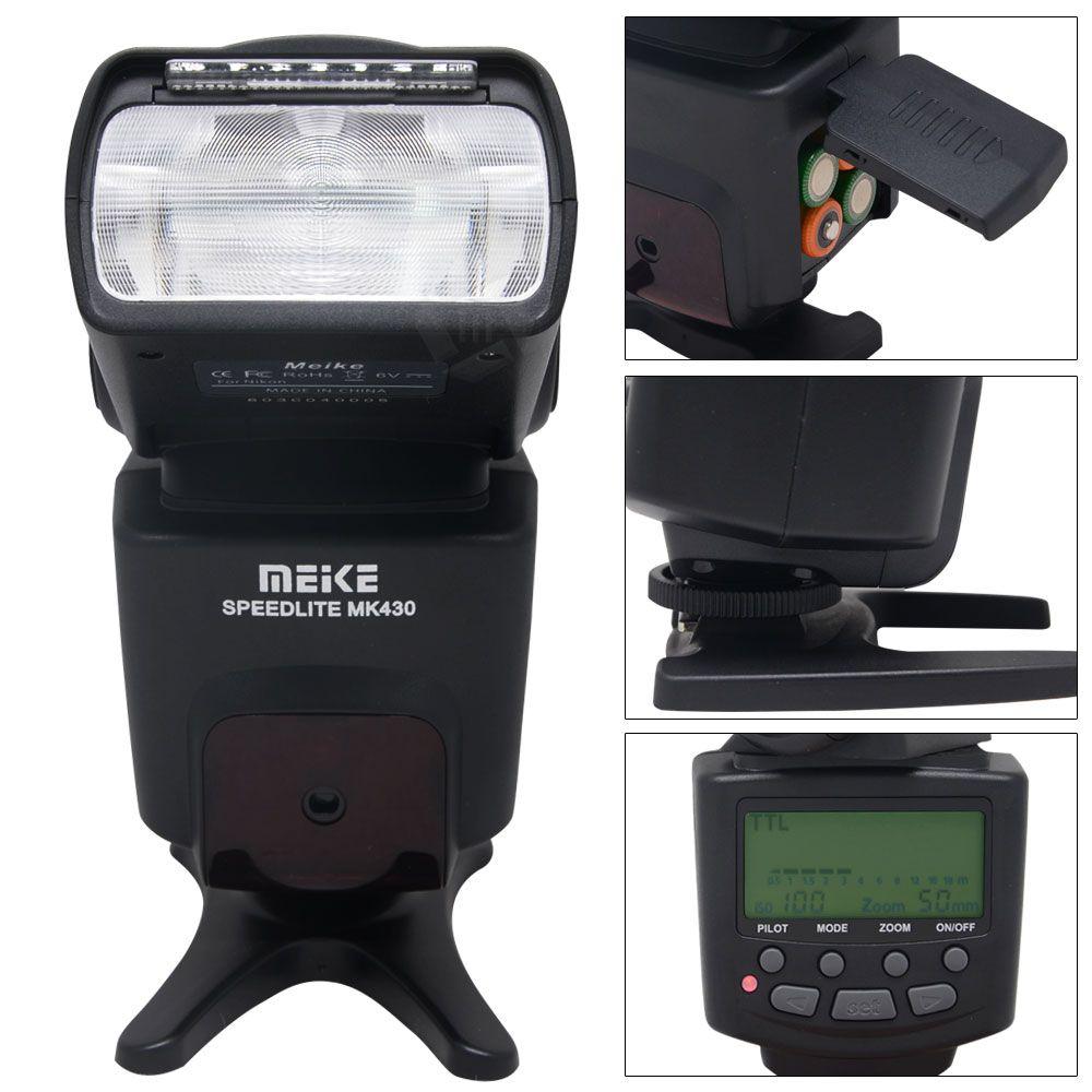 Click To Buy Meike Mk 430c I Ttl S1 S2 Lcd Flash Speedlite For Yongnuo Yn 565ex Ii Canon