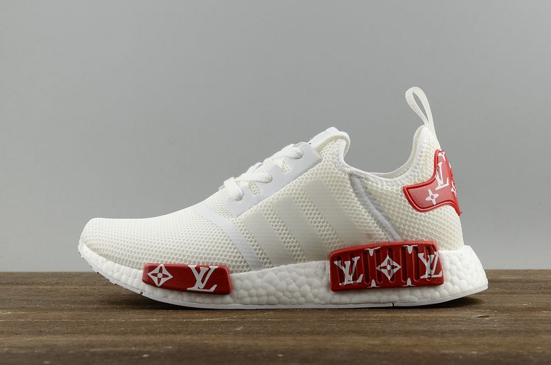 afbca40298b The Supreme Louis Vuitton adidas NMD is a custom featuring Louis Vuitton s  monogram and Supreme The design boasts Louis Vuitton s iconic monogram on  the ...