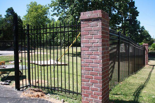 Maintenance Free Ornamental Aluminum W Brick Columns In
