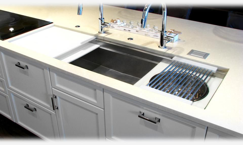 5 1 2 Sink From The Galley Store With Accessories 6 800 7 560 With Images Kitchen Inspirations Kitchen Remodel Versatile Kitchen
