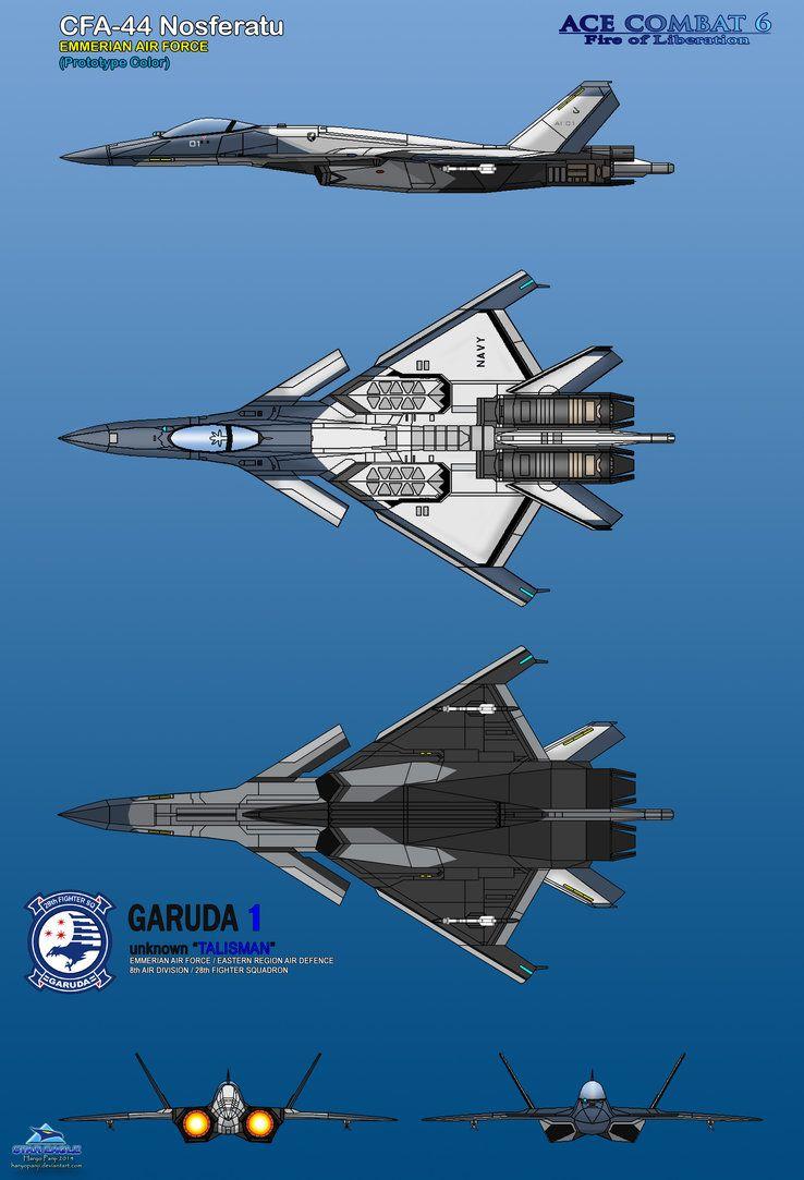 CFA-44 Emmerian Air Force by haryopanji