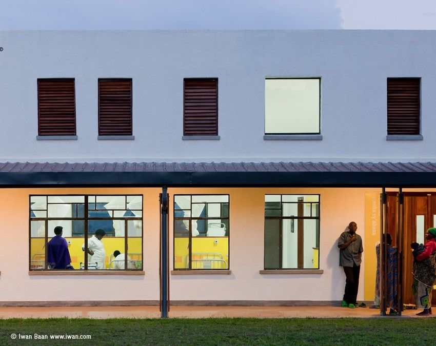 Butaro hospital in rwanda by mass design group