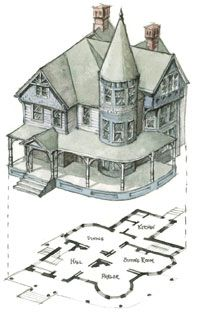 Stunning Queen Anne House Plans Pictures Exterior ideas 3D gaml