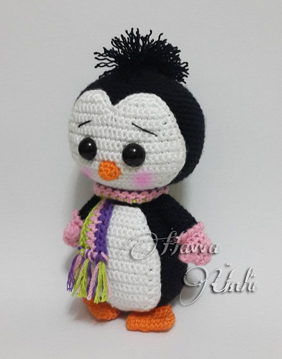 PATTERN Cute Penguin Amigurumi Crochet by HavvaDesigns on Etsy ...