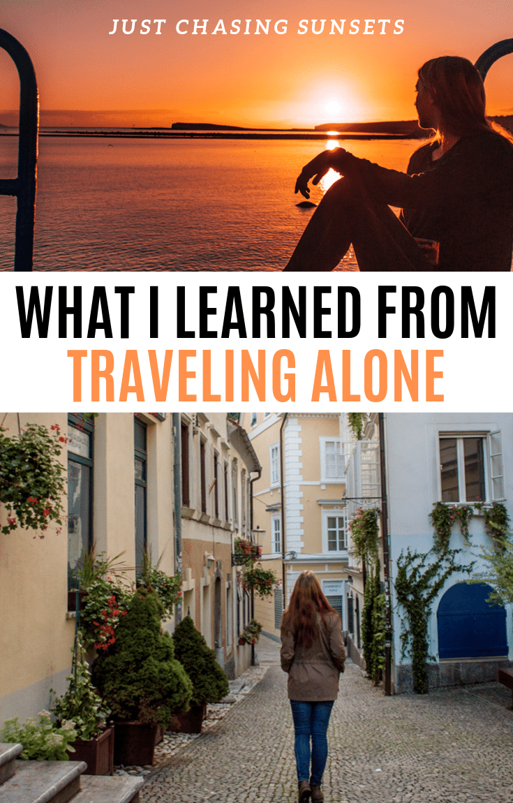 What I've Learned About Traveling Solo as a Woman #travelalone