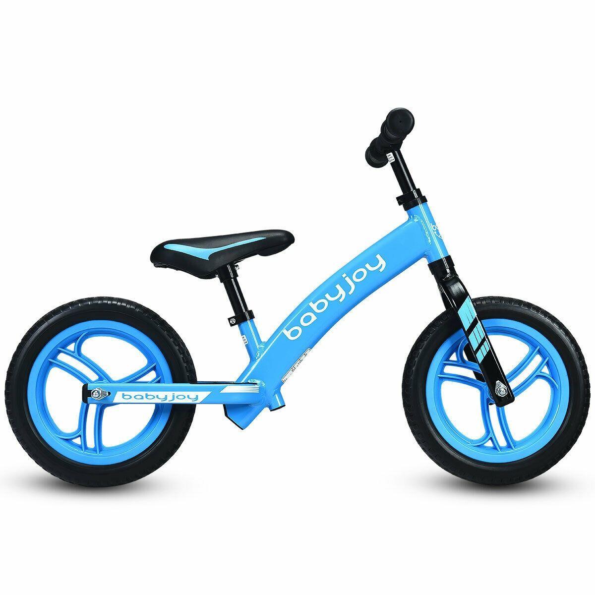 12 Kids No Pedal Balance Bike With Adjustable Seat Balance Bike