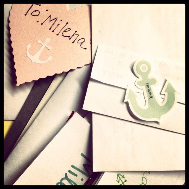 Senior SendOff Letters     Anchored For Life