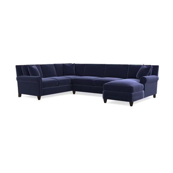 U Shaped Sectional Sofa, Bassett Furniture Knoxville