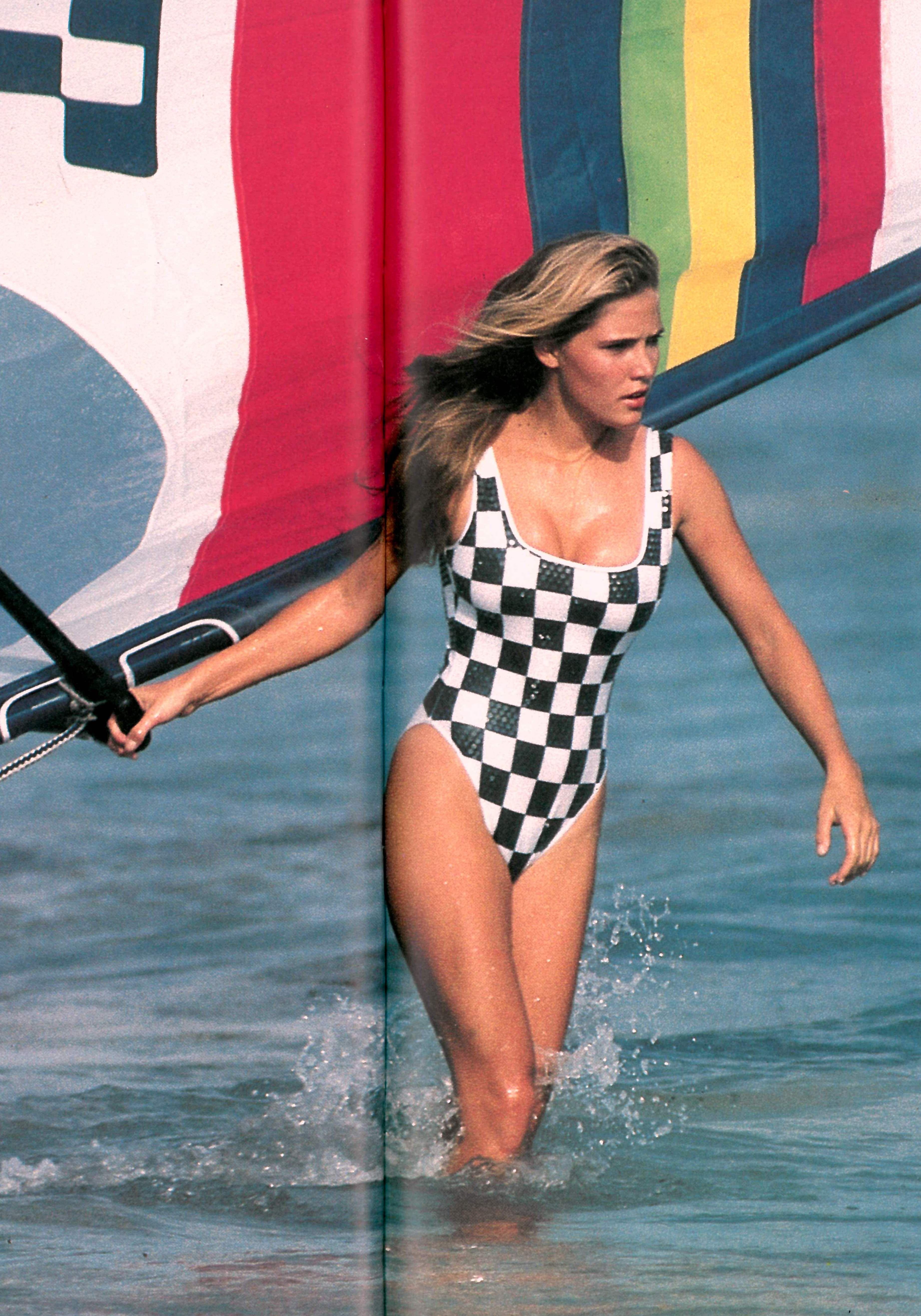 31267b19f1 Jenna de ROSNAY Sexy Beach Wear, Windsurfing, Amazing Women, One Piece  Swimsuit,