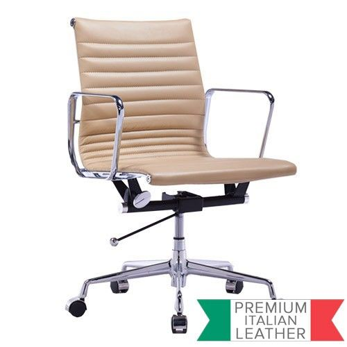 reproduction office chairs. Management Office Chair - Eames Reproduction Light Brown | Milan Direct Chairs C