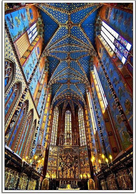 Catedral De Sta María De Cracovia Polonia Krakow Cathedral Historical Architecture
