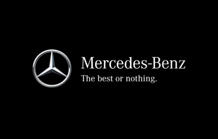 Love Mb S New Slogan The Best Or Nothing Mercedes Benz Logo