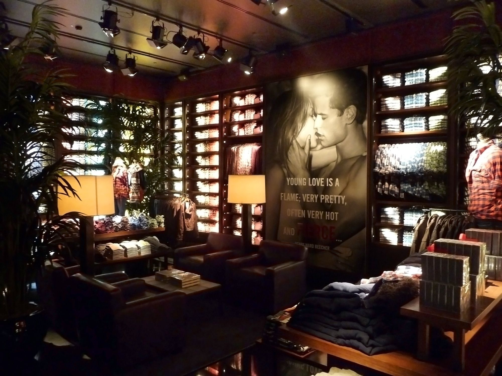 Selldorf Architects :: Abercrombie & Fitch Flagship Stores ...