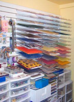 Scrapbooking Organization: 12x12 Scrapbook Paper Storage Solutions