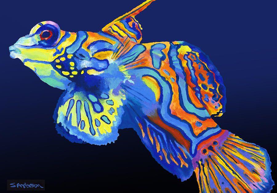 Exotic Fish Paintings for Sale | EXOTIC FISH | Sea fish, Beautiful