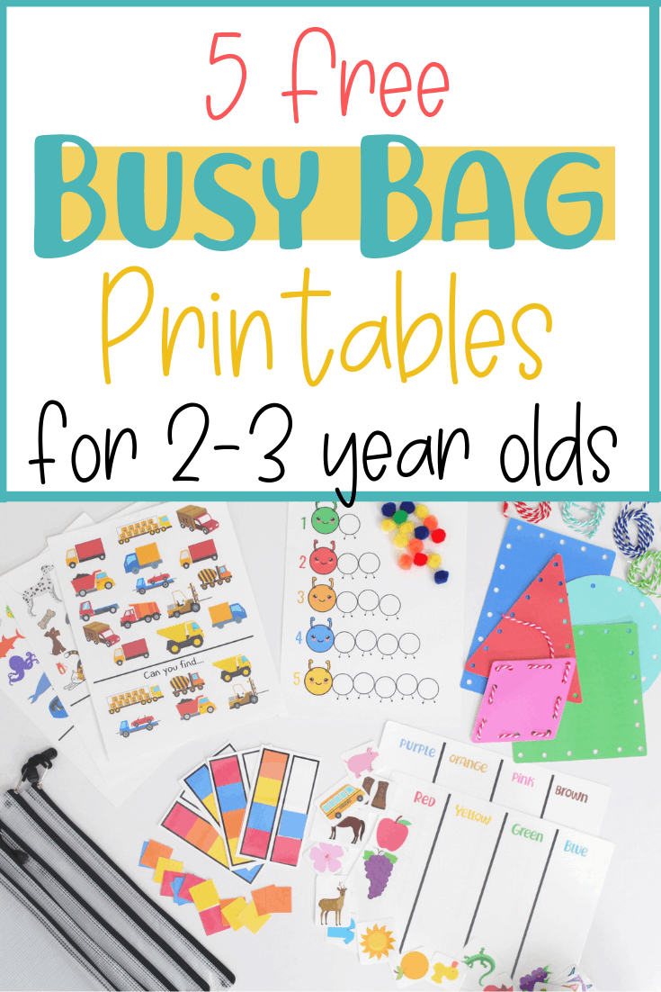 hight resolution of 5 Free Busy Bag Printable Activities for Toddlers . Printable educational …    Preschool learning activities