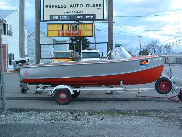 1957 Crestliner Voyager Classic Boats Vintage Boats Aluminum Boat