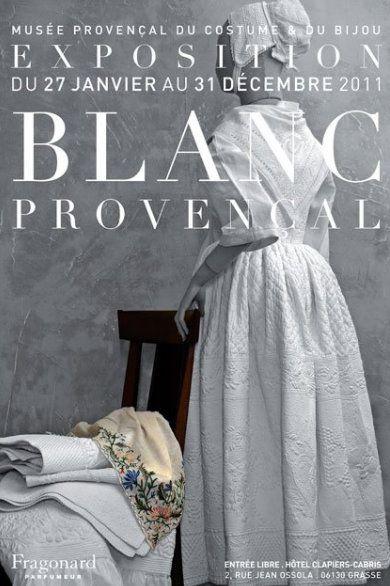 Blanc provencal exposition à Grasse