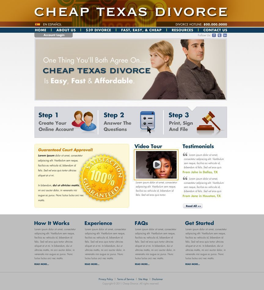 Visit our website to get your uncontested divorce forms ready to visit our website to get your uncontested divorce forms ready to file for only 149 solutioingenieria Images