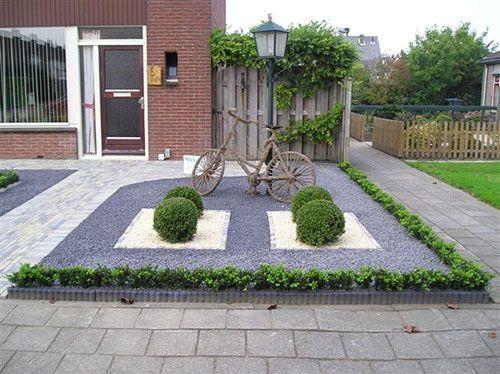 Voortuin idee n leuke tuin idee n pinterest voortuinen zoeken en tuin idee n - Oprit idee ...
