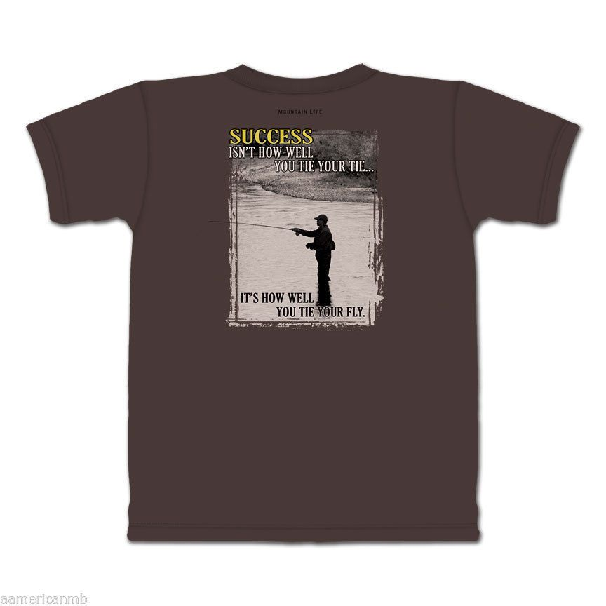 Mountain Life T-shirt Hiker Rock Climber Size S L Blue Vision Surviving Jackass