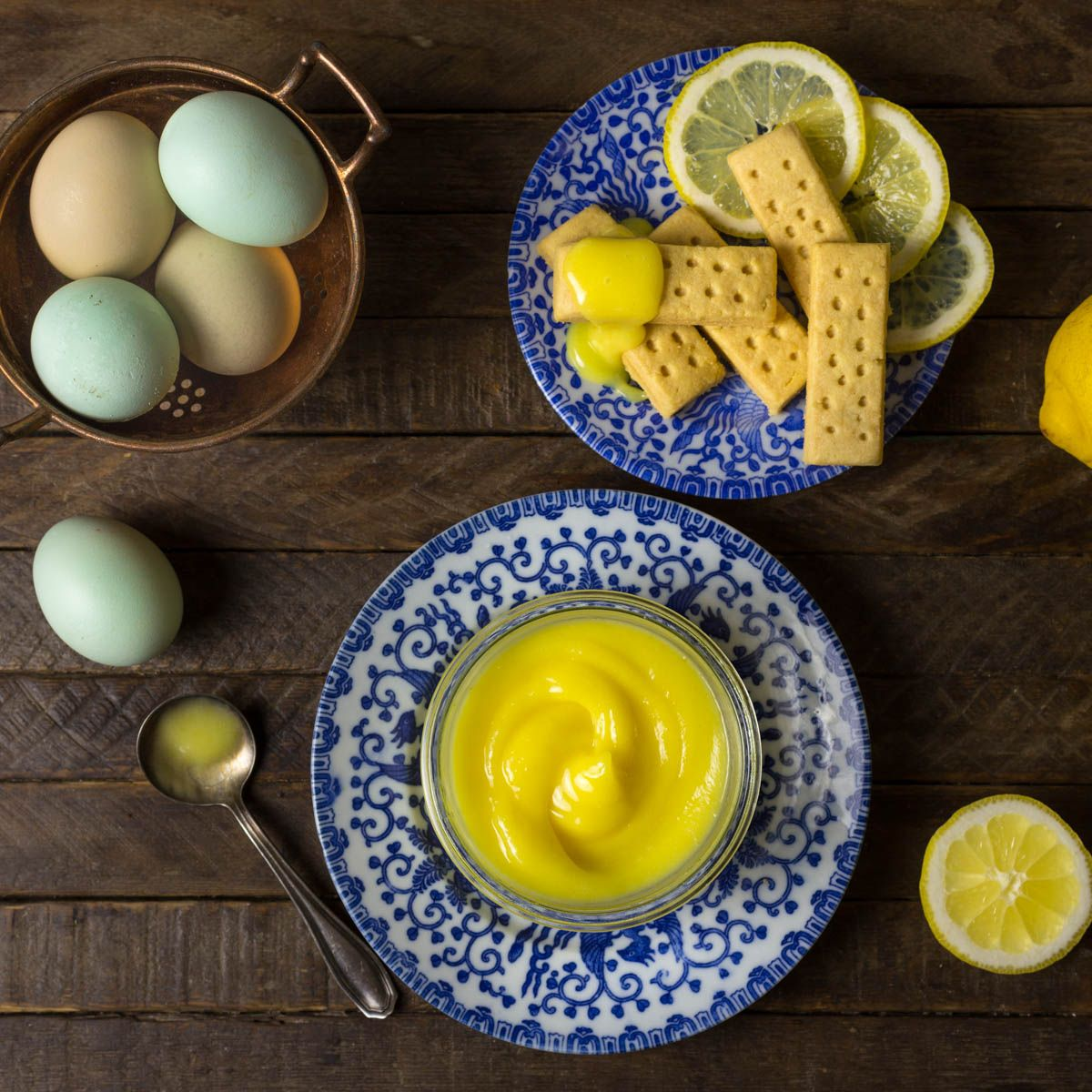 Lemon curd is a delicious sweet, tart condiment that's really easy to make with just a few ingredients. You'll never use store-bought curd again!