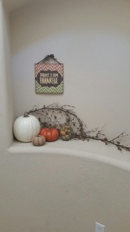 Entryway for fall