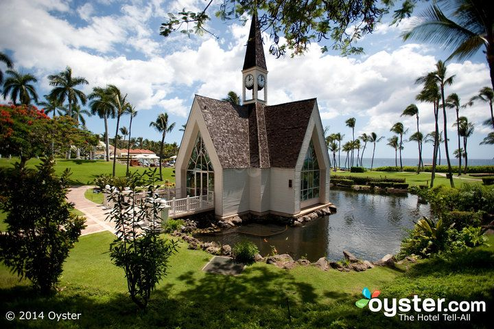 The Wedding Chapel At Maui S Grand Wailea Resort Is Oddly Enough A Charming New England Hawaiian Hybrid When It Comes To Style Set Above