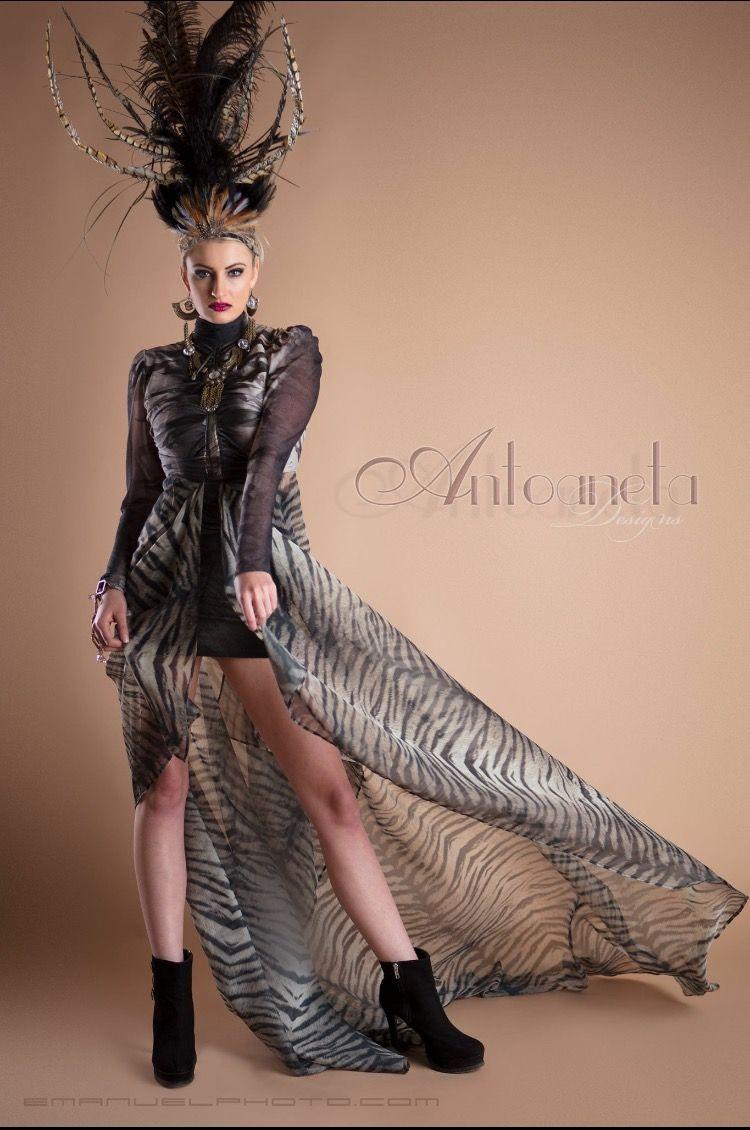 For Galina Couture Dress designer Antonaeta Antoaneta Balabanova