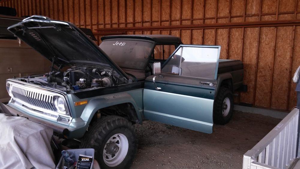 eBay: 1975 Jeep J20 1975 Jeep J20 Pickup Truck LIFTED w/ 35