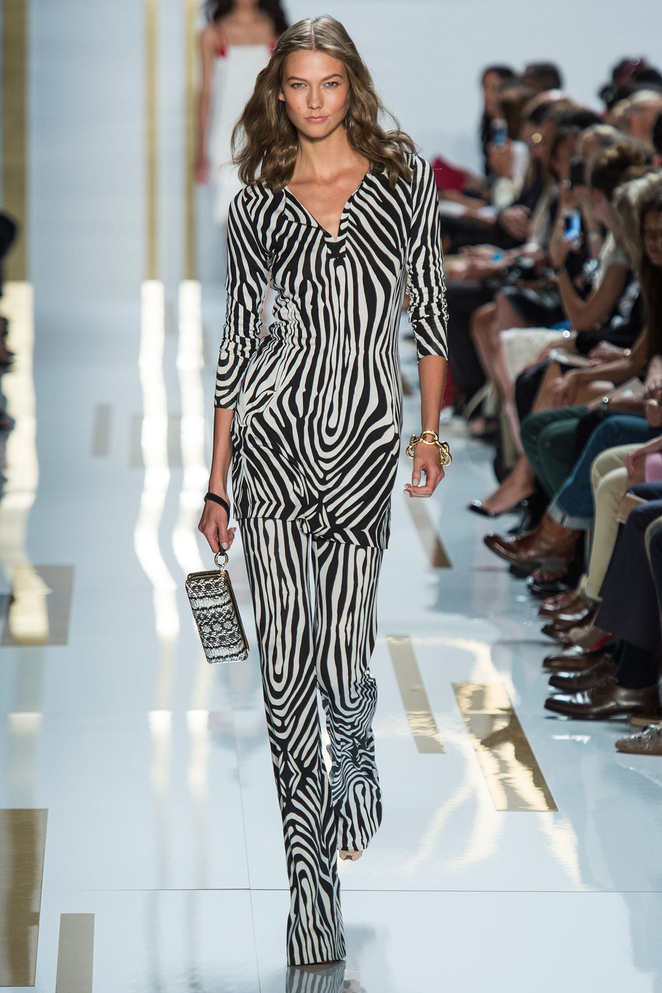 Diane von Furstenberg Spring 2014 Ready-to-Wear Fashion Show - Model Karlie Kloss