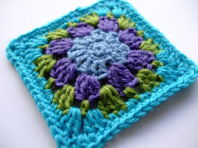 free square crochet pattern