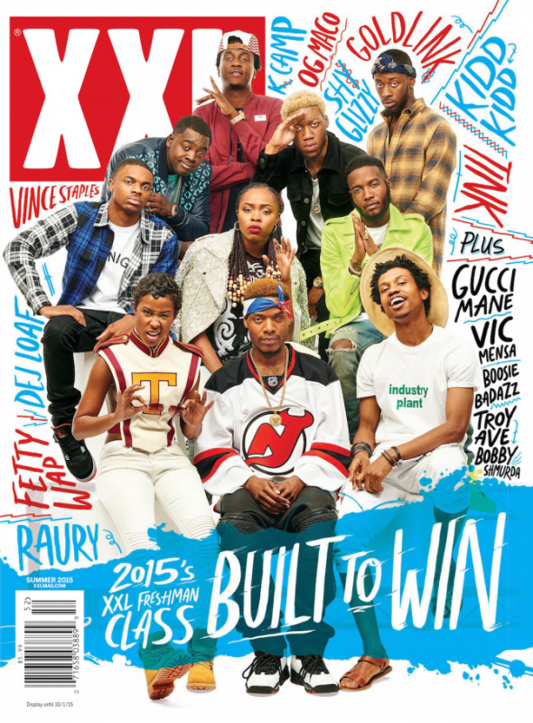 The announcement of our 2015 XXL Freshman Class, of course, also means our Summer 2015 issue has arrived and it's packed full of top-notch stories.