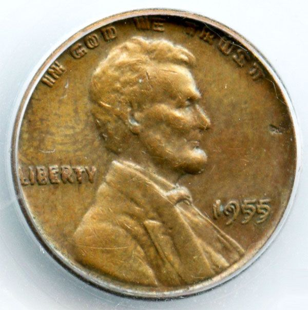 The 1955 Doubled Die Lincoln Penny Error Is Valuable And Can Be Worth Over 2000 Do You Have One Sitting Around In Your Cha American Coins Coin Auctions Penny