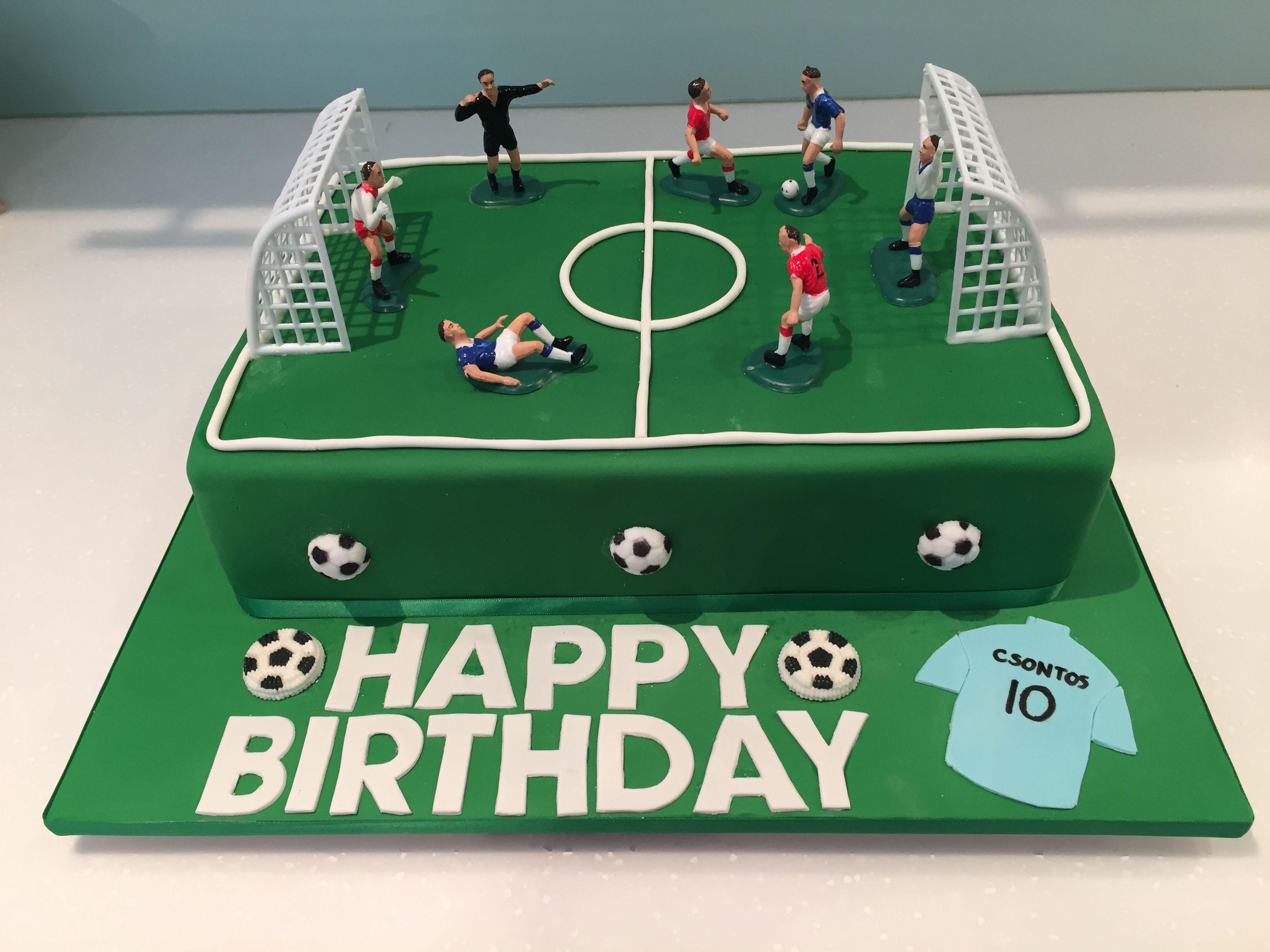 Pleasant Soccer Field Soccer Birthday Cakes Birthday Cakes For Men 40Th Funny Birthday Cards Online Aboleapandamsfinfo
