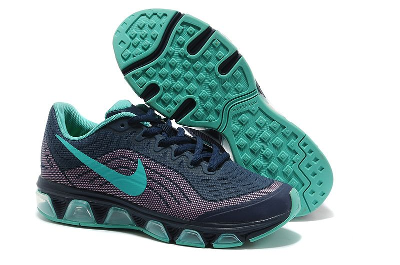 online retailer 46e31 16397 Nike Air Max Tailwind 6 Deep Blue New Green Women s Running Shoes