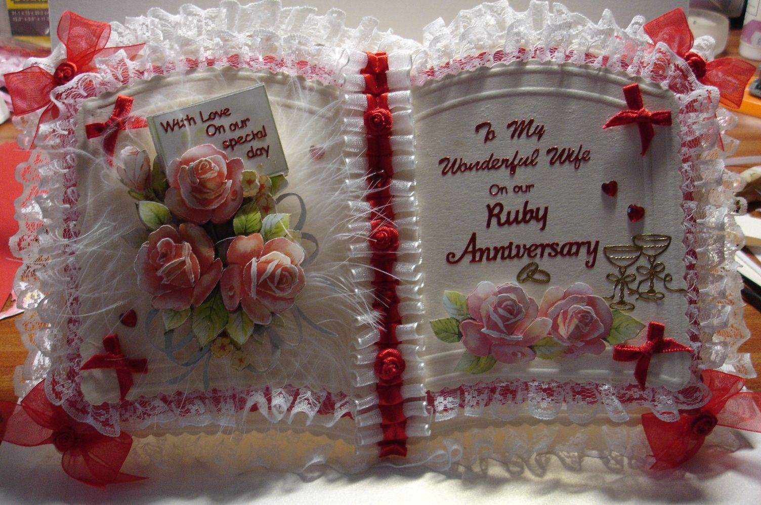 special anniversary card bookatrix