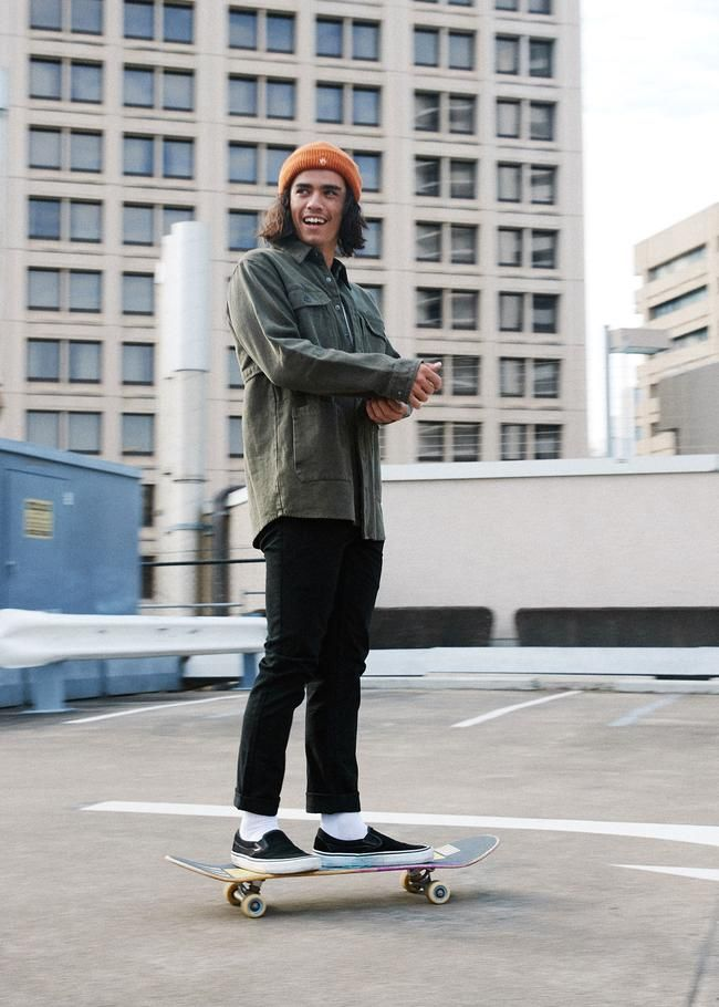 Afends Mens Society Slim Fit Denim Jeans Skater Style Men Mens Street Style Skater Boy Style