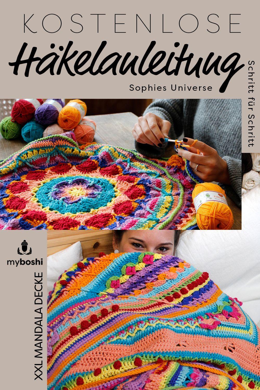 Sophie S Universe Heisst Diese Wunderschone Mandala Decke Mit Der