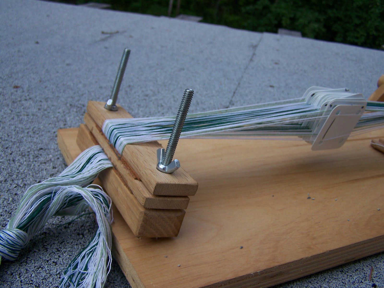 Nellabellabest Portable Card Weaving Loom For Long Lengths Tavoletta